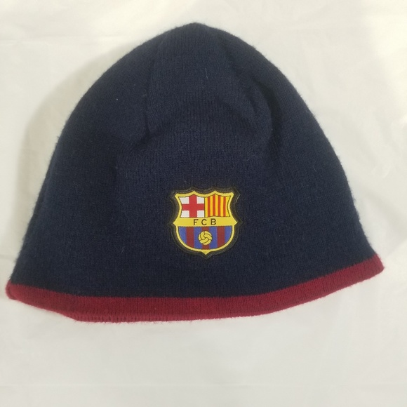 Official FC Barcelona Winter Hat Toque